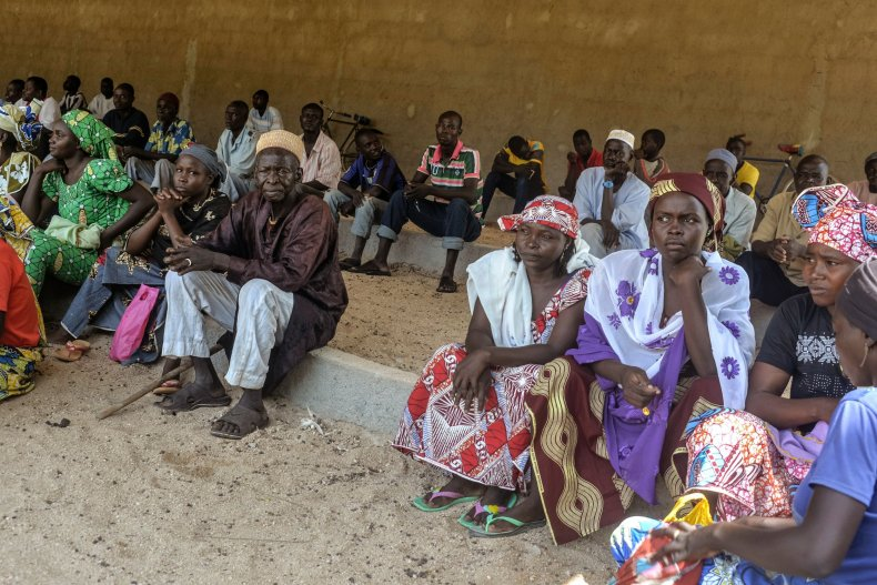 Cameroon displaced persons