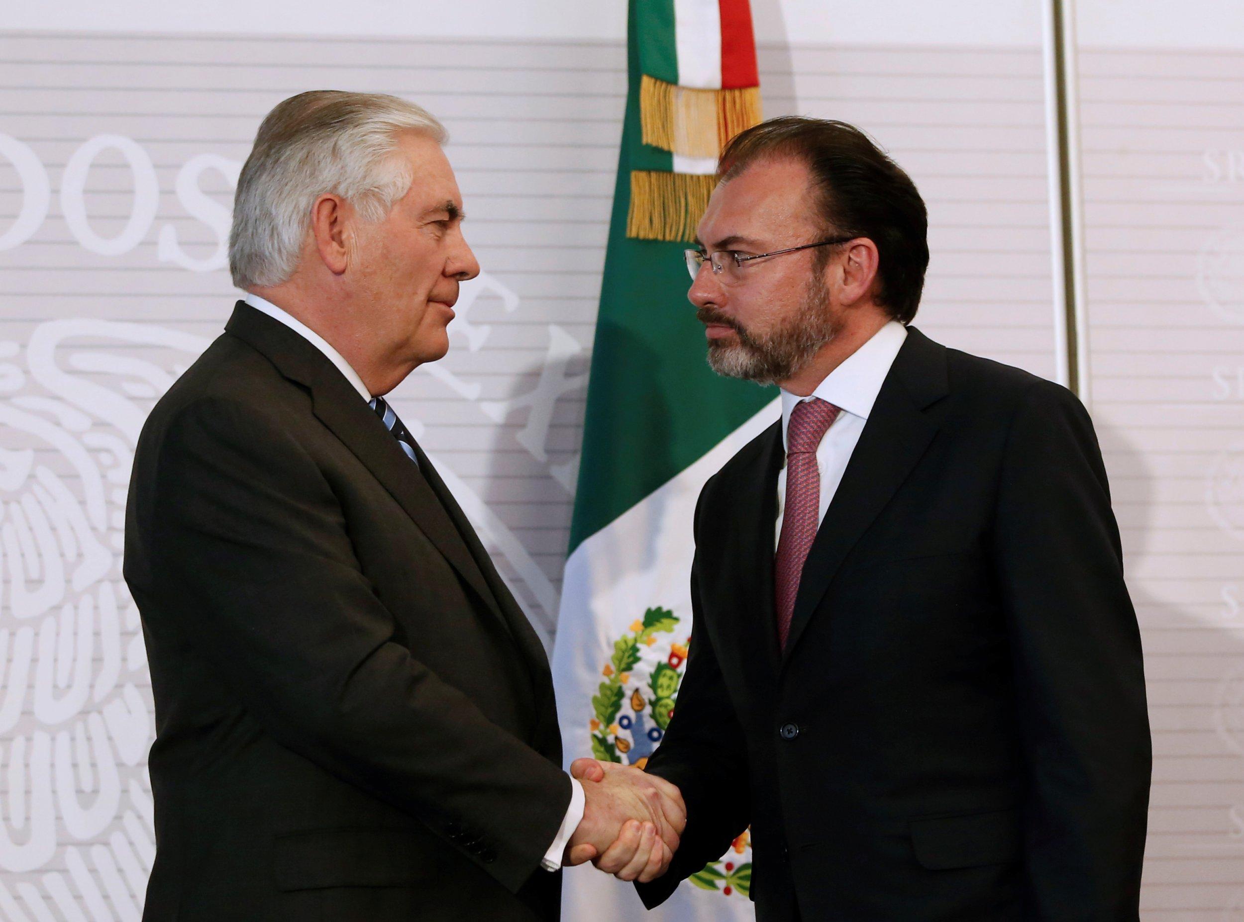 Rex Tillerson Mexico Visit