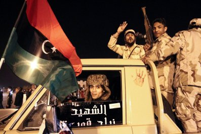 Libya revolution anniversary