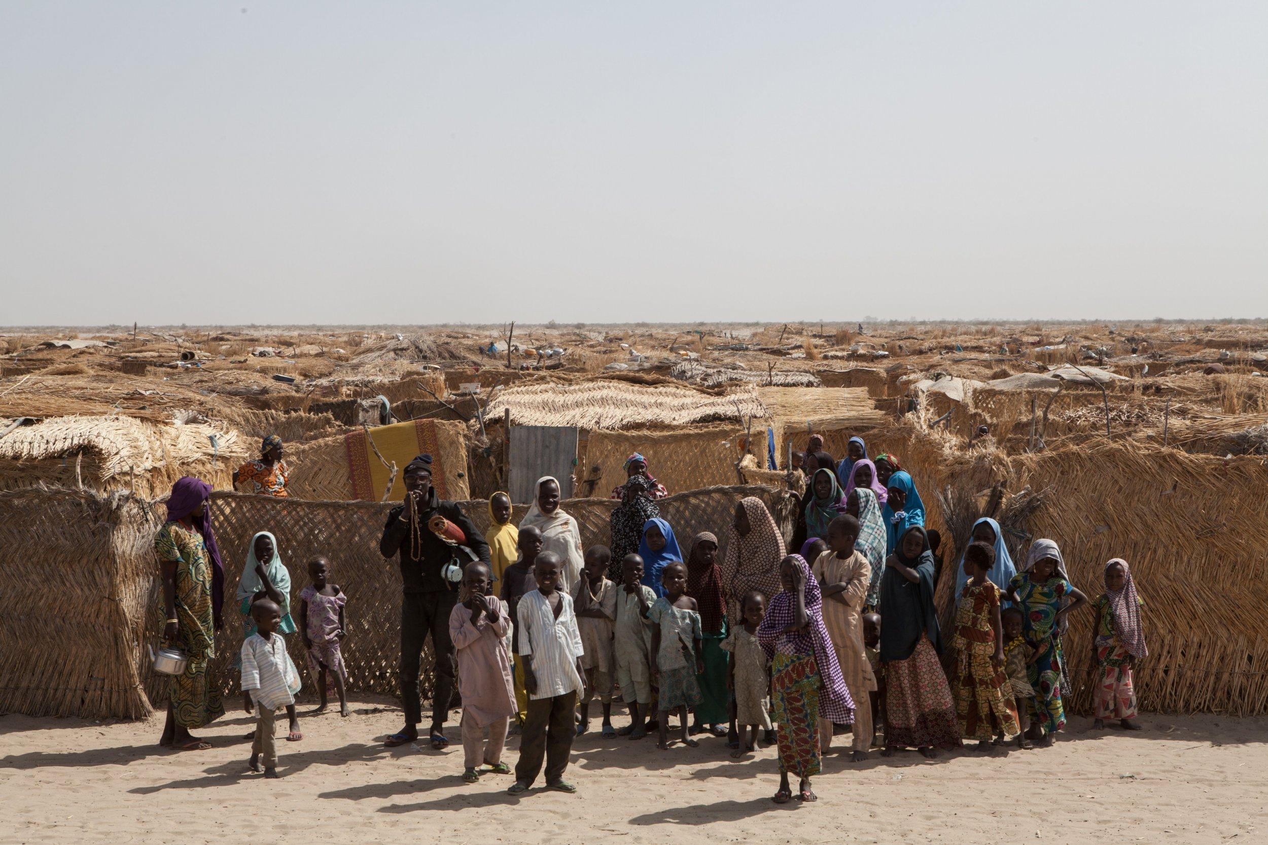 Nigeria IDP families