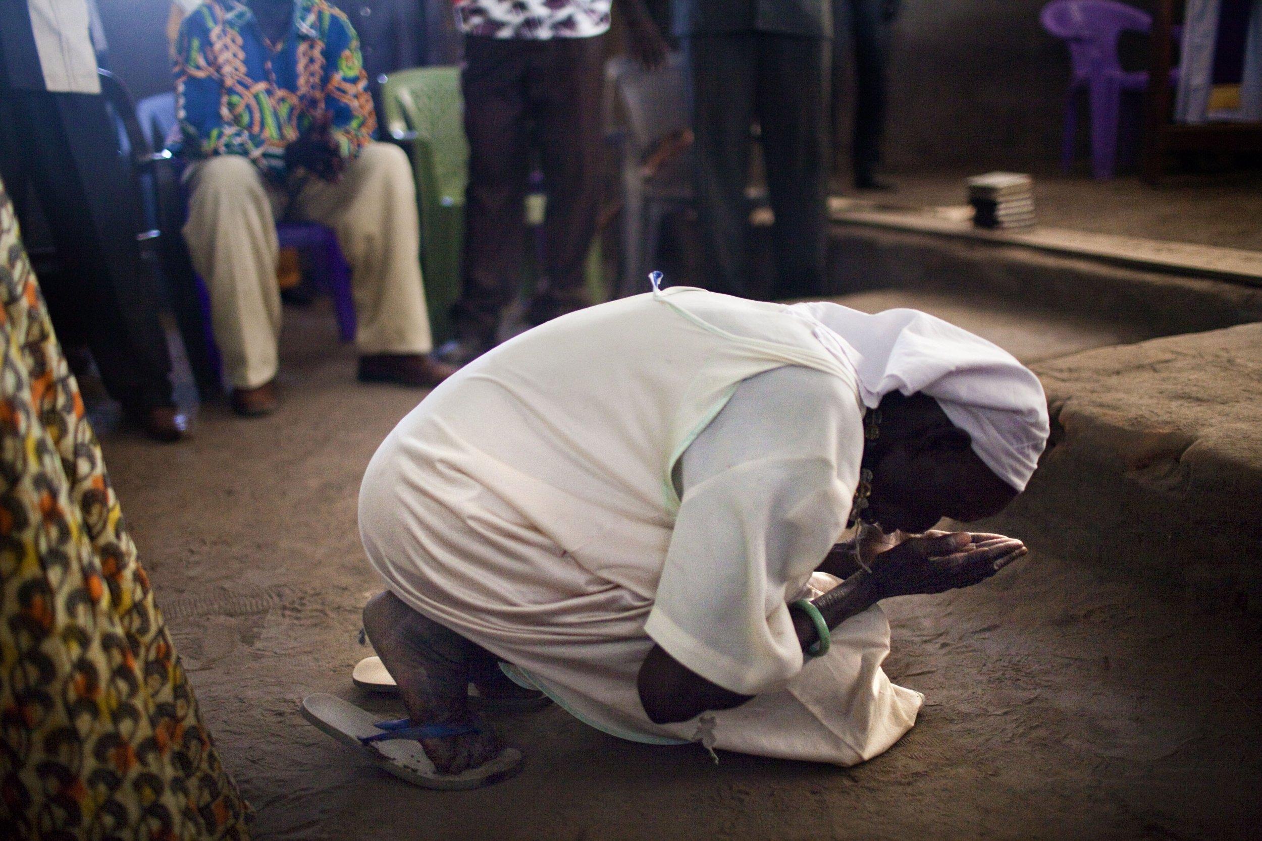 South Sudan prayer