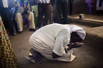 South Sudan prayer
