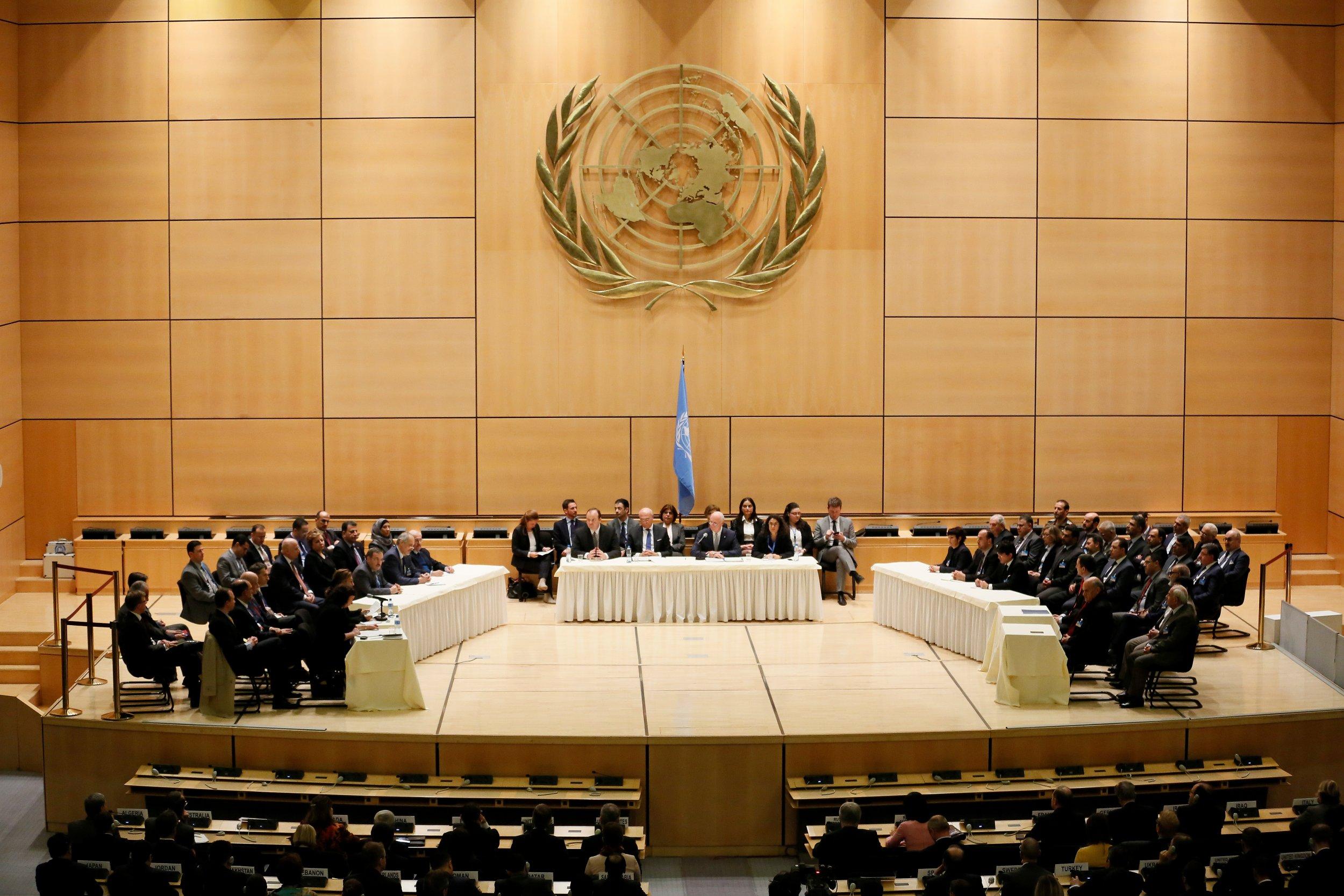 U.N. Syria Peace Talks