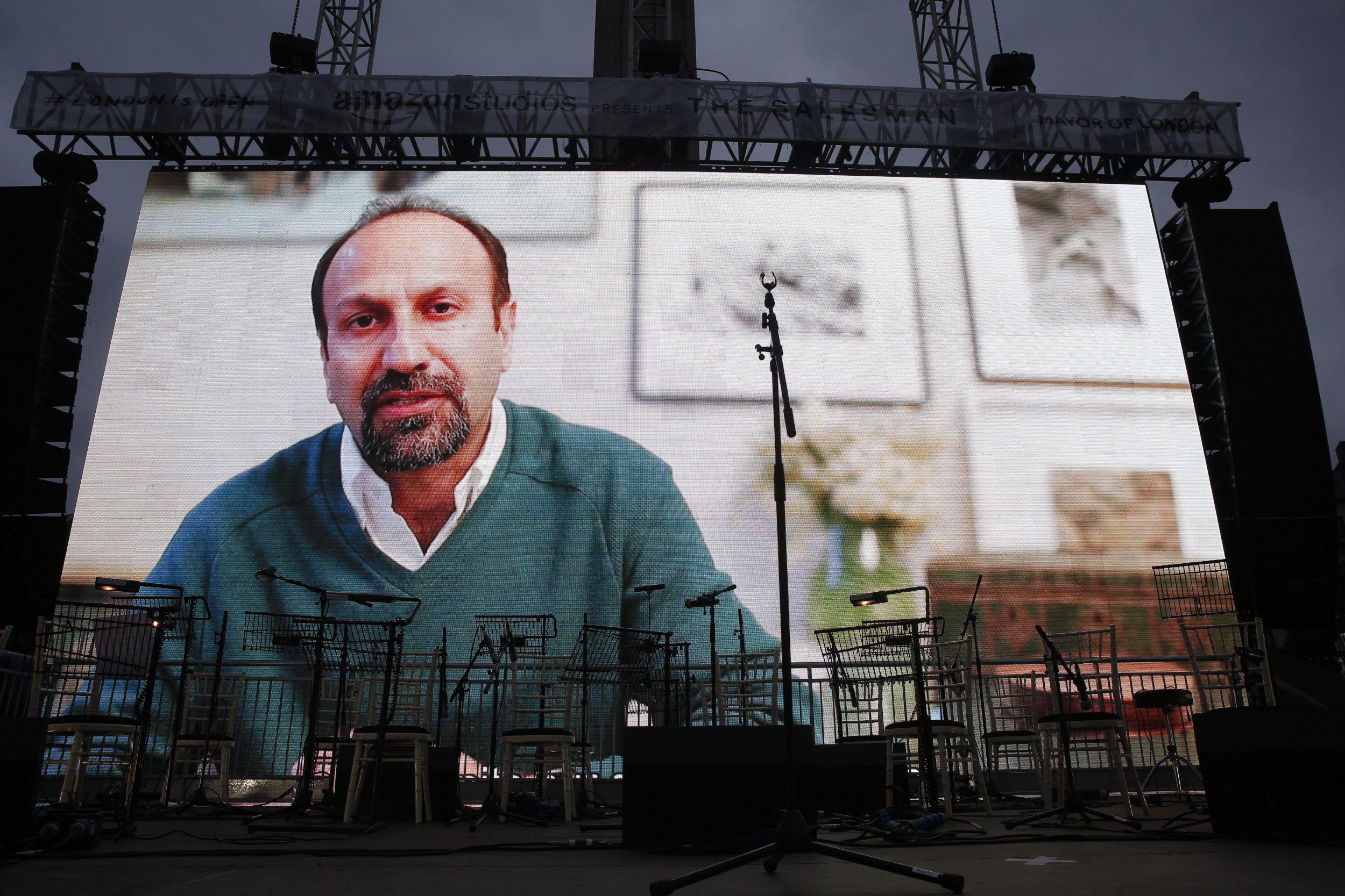 Asghar Farhadi screen