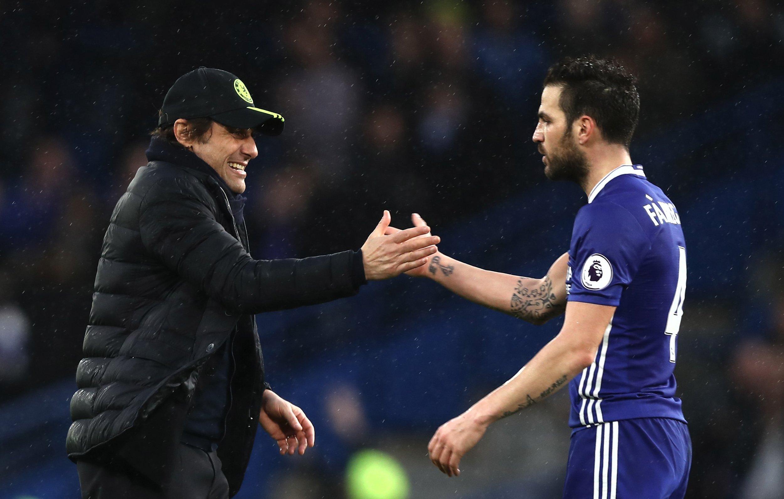 Conte and Fabregas