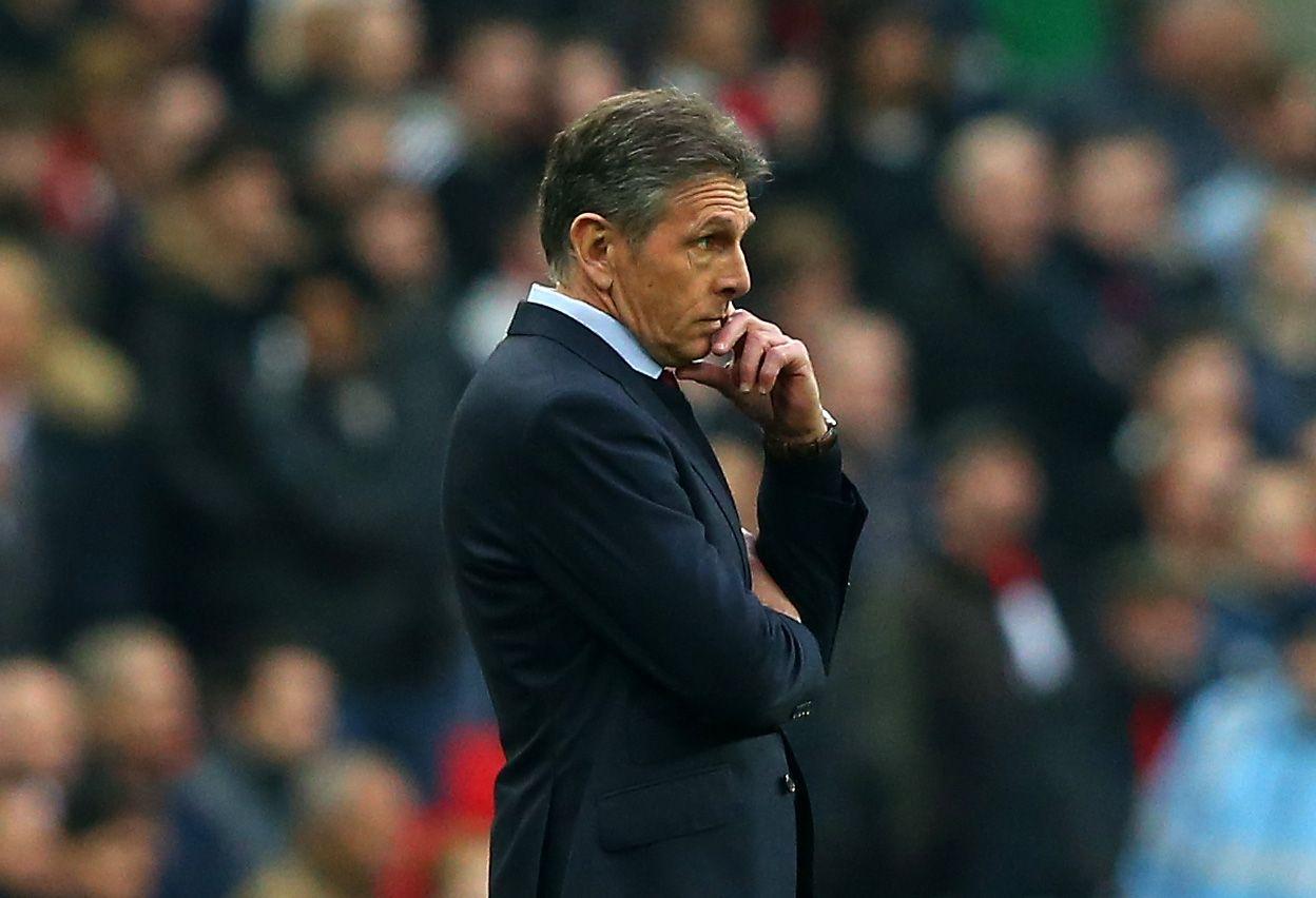 Southampton manager Claude Puel.