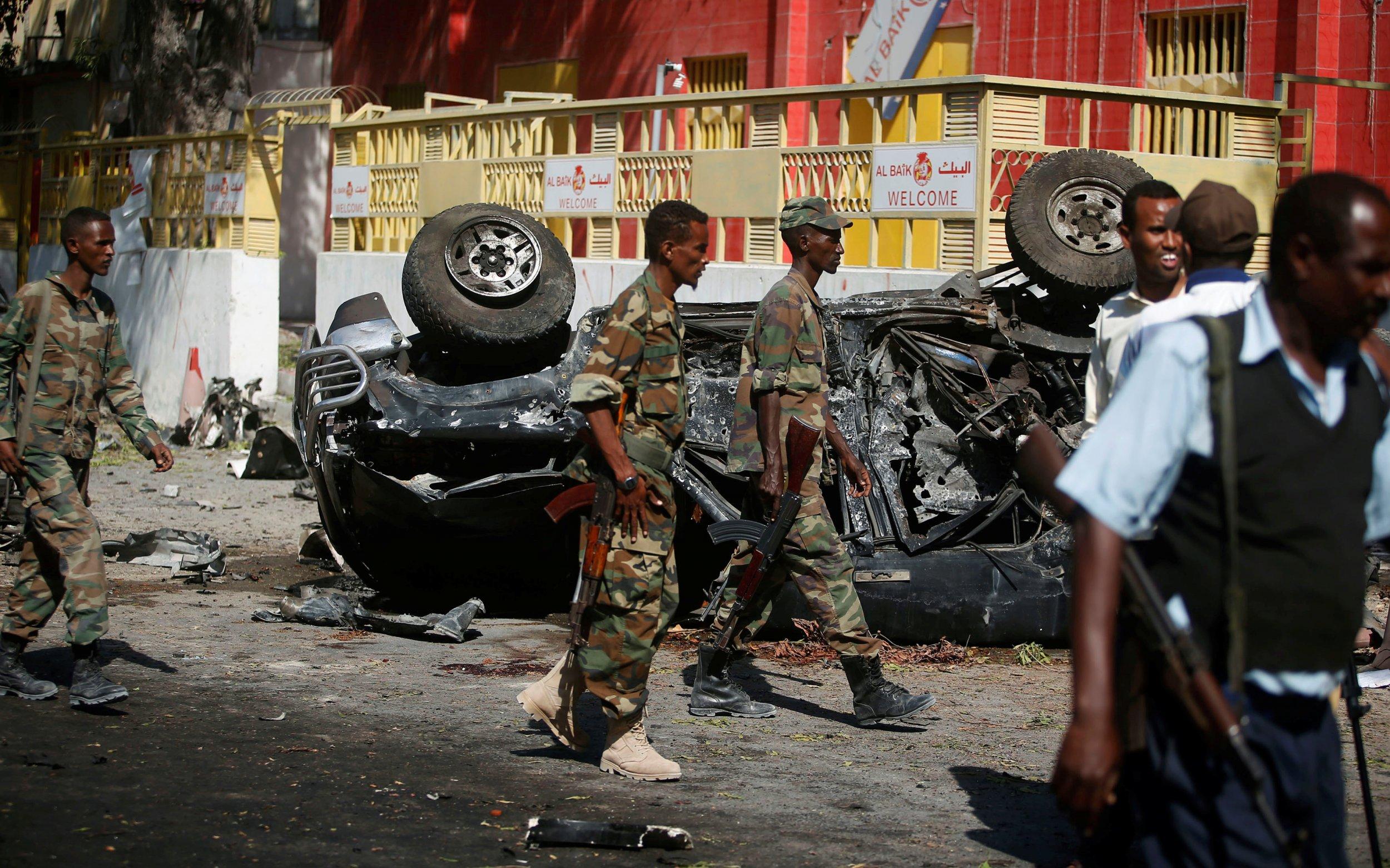 Somali soldiers al-Shabab attack