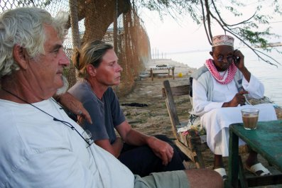 Jurgen Kantner and Sabine Merz in Somalia