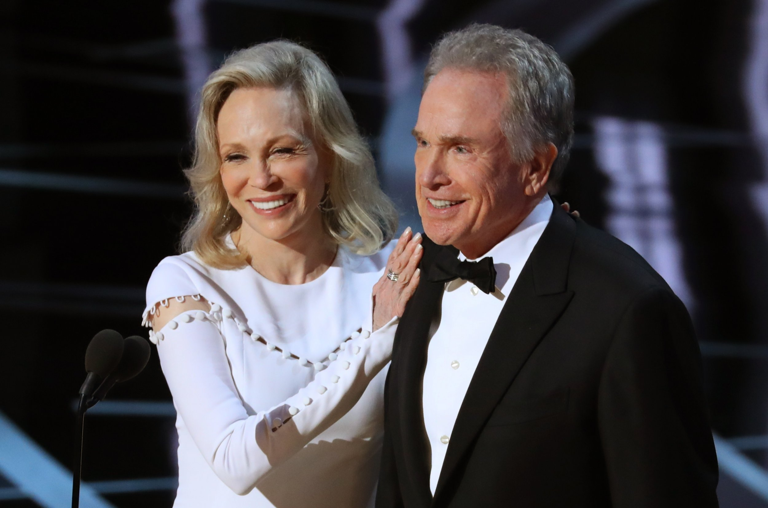 Faye Dunaway Warren Beatty Oscars