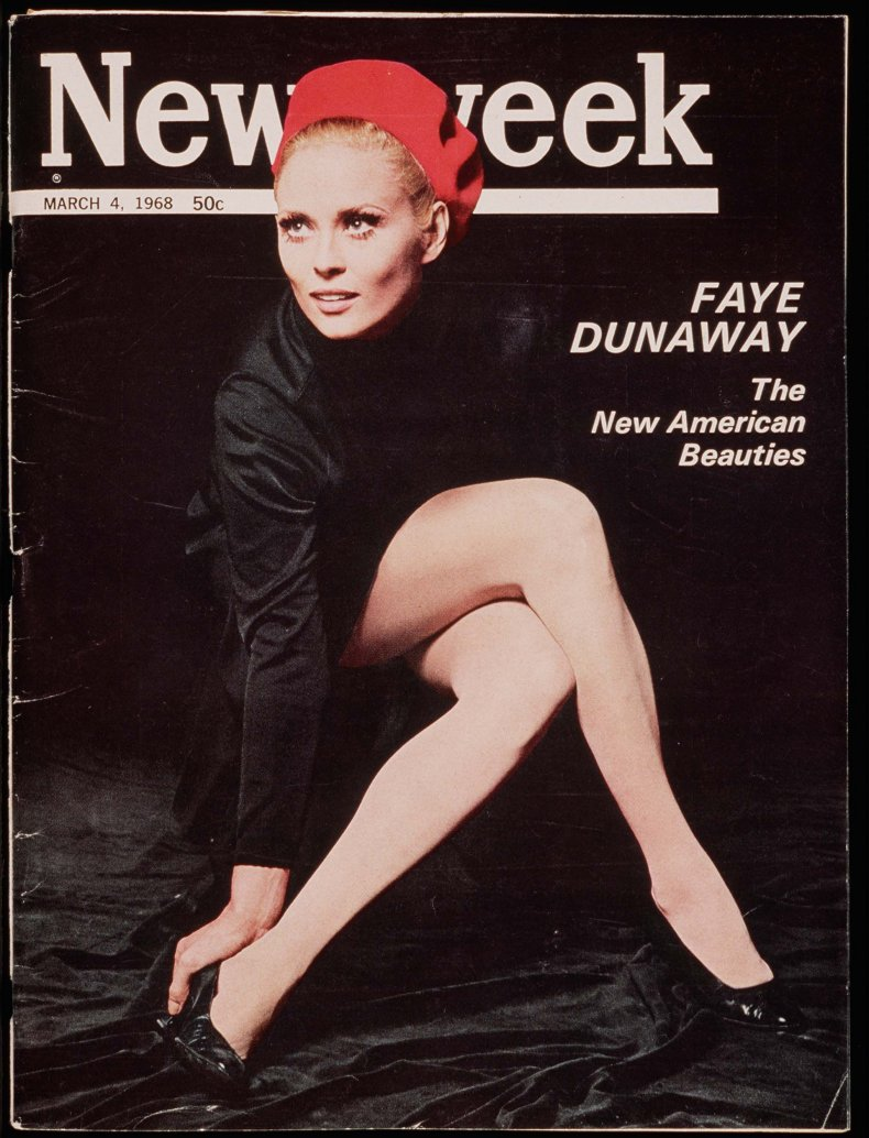 Faye Dunaway March 4 1968