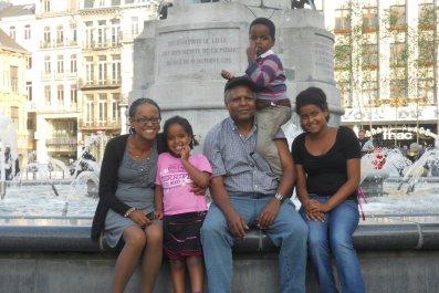 Andy Tsege family