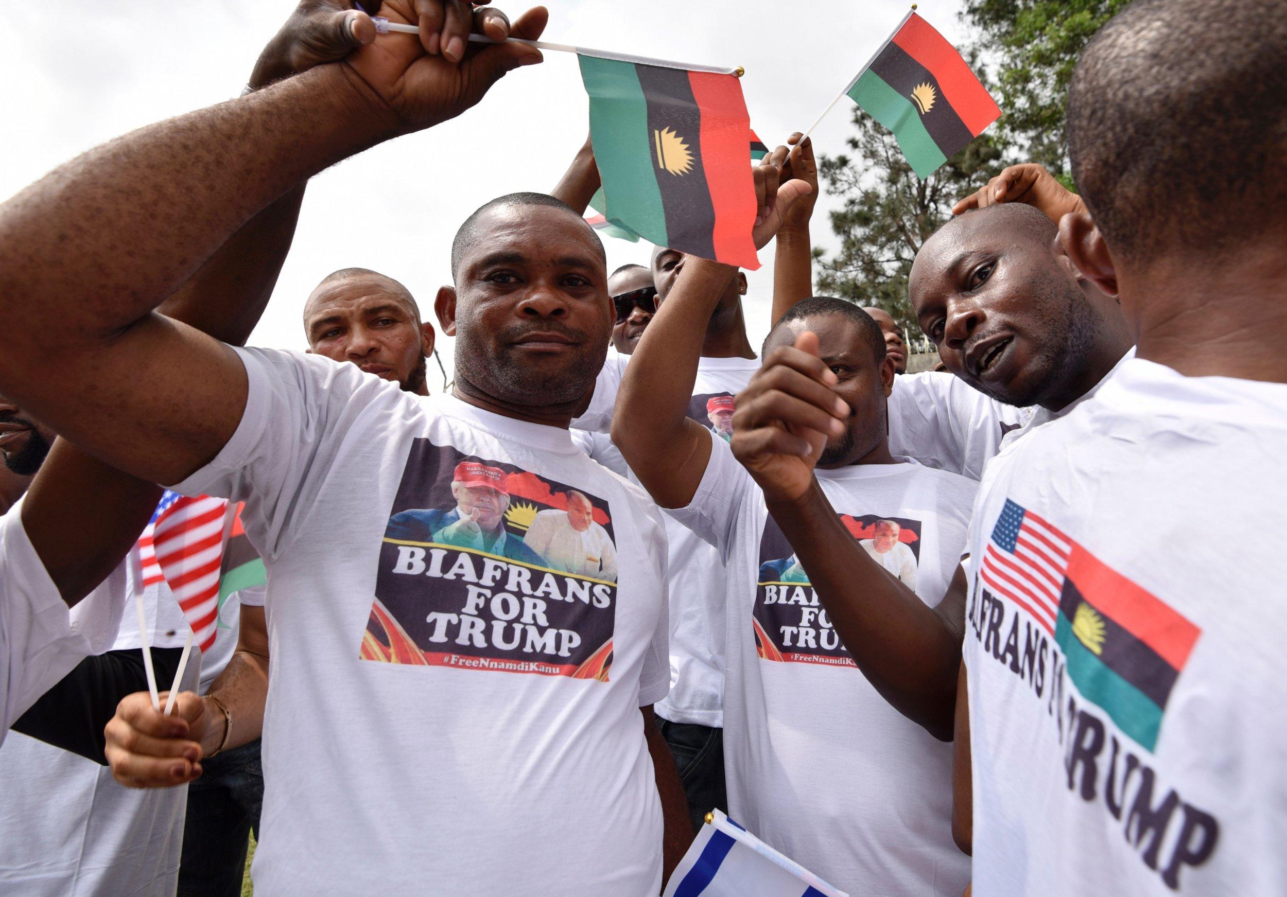 Pro-Biafra rally