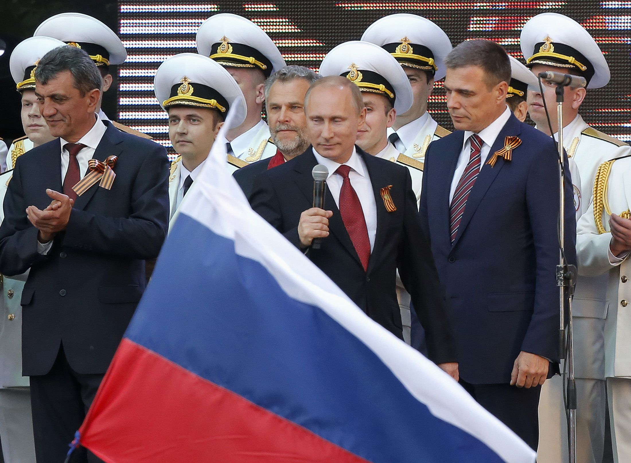 Vladimir Putin in Crimea