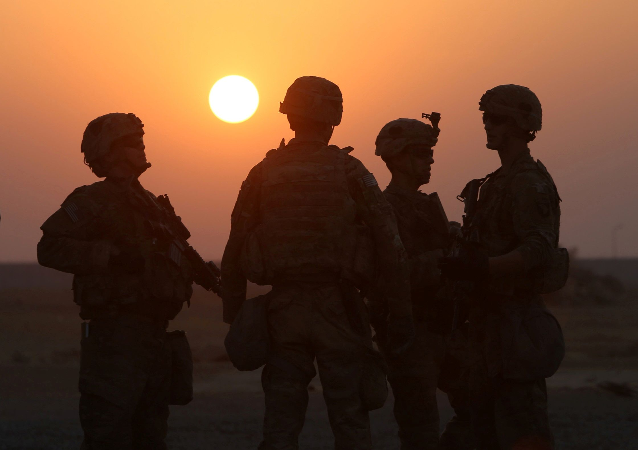 Iraq U.S. Troops
