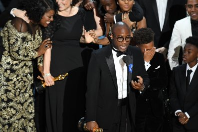 Barry Jenkins at Oscars
