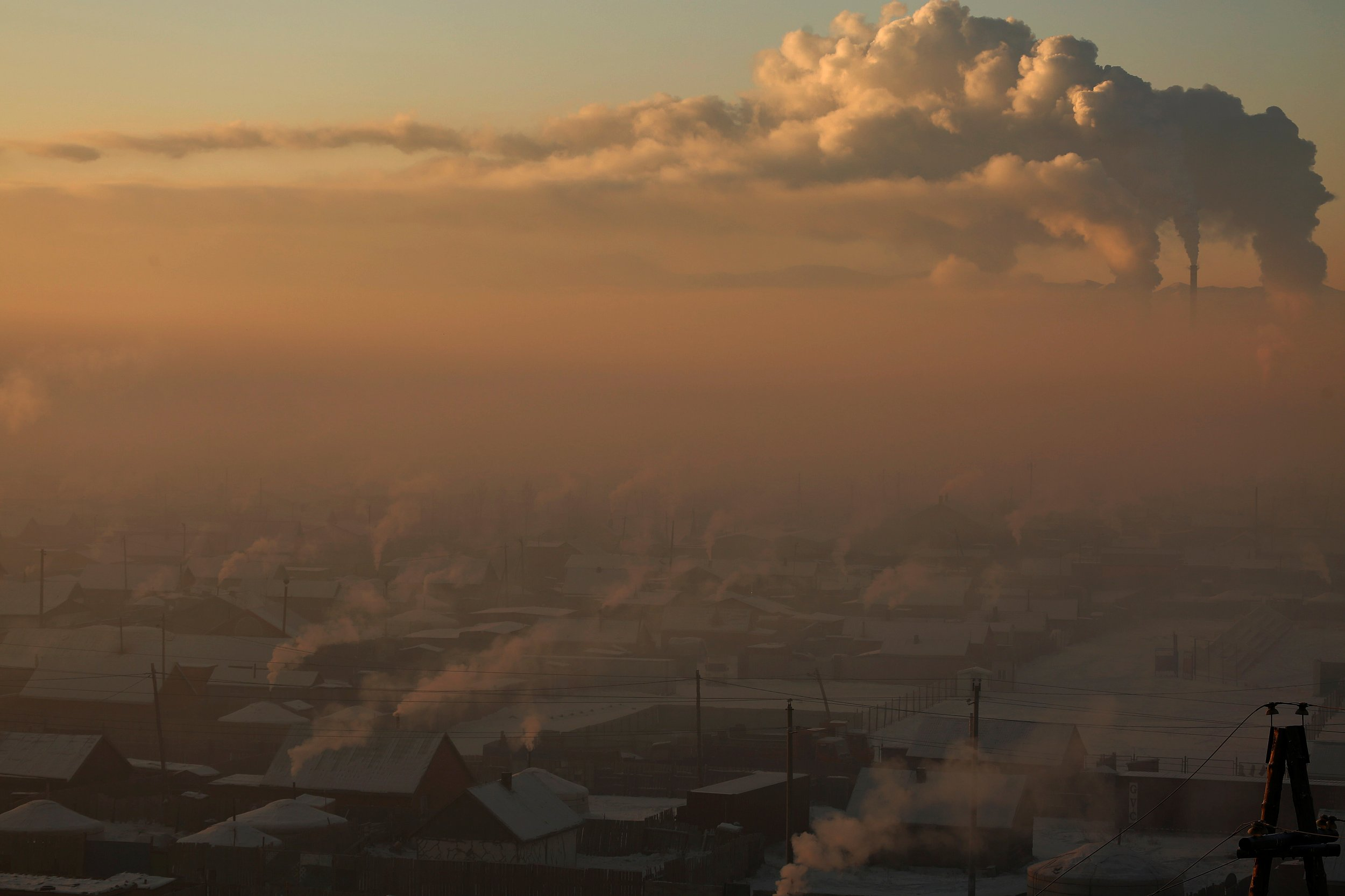 Pollution in Mongolia