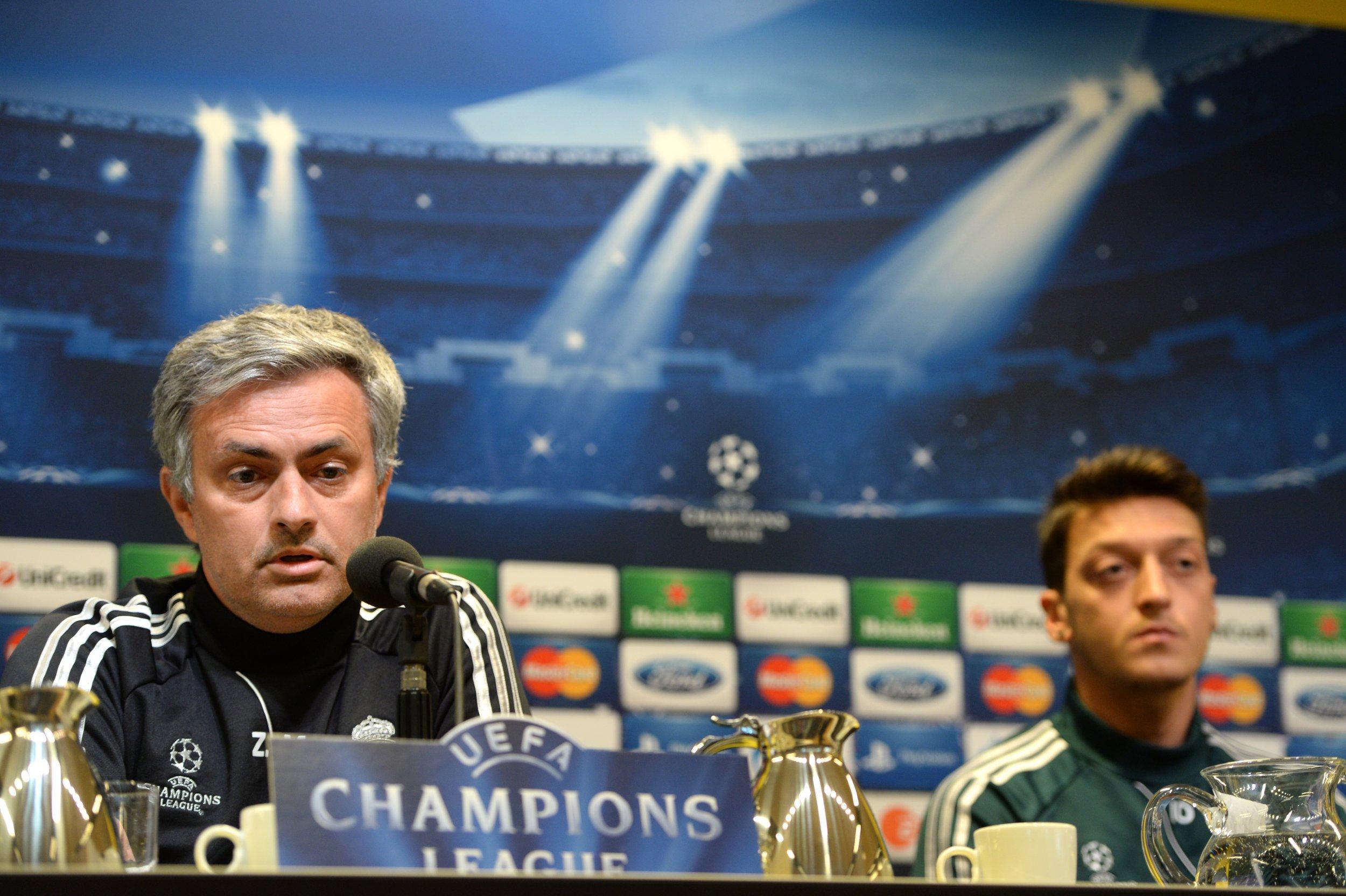 Mourinho and Ozil