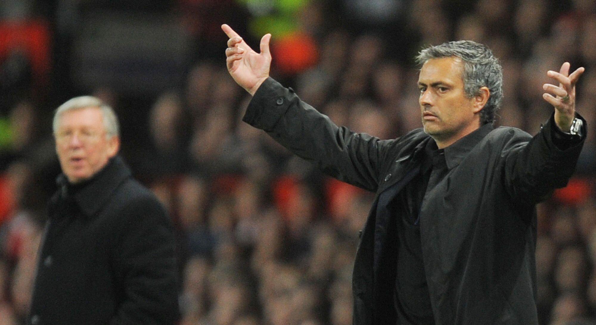 Ferguson and Mourinho