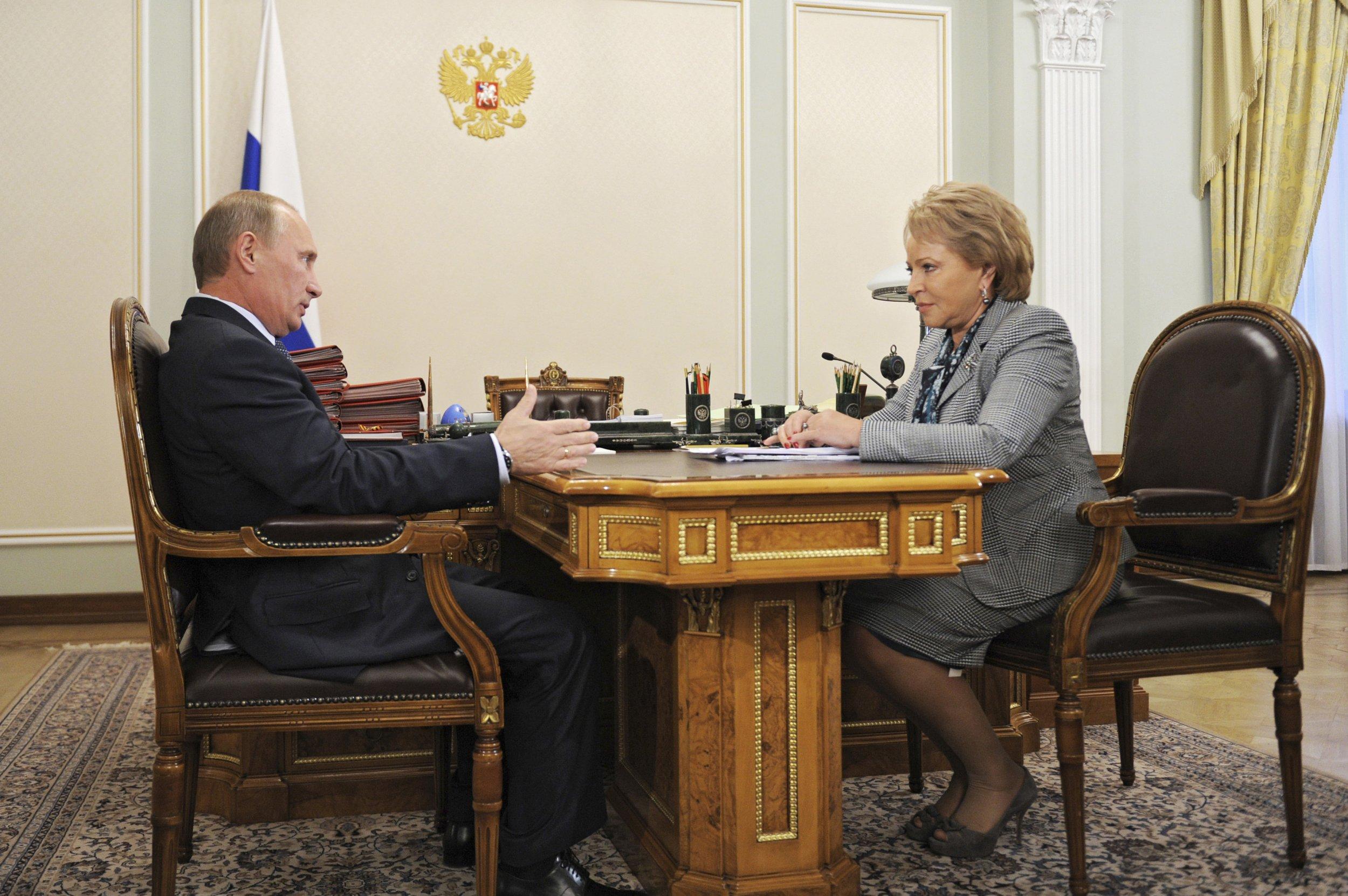 Putin and Matviyenko