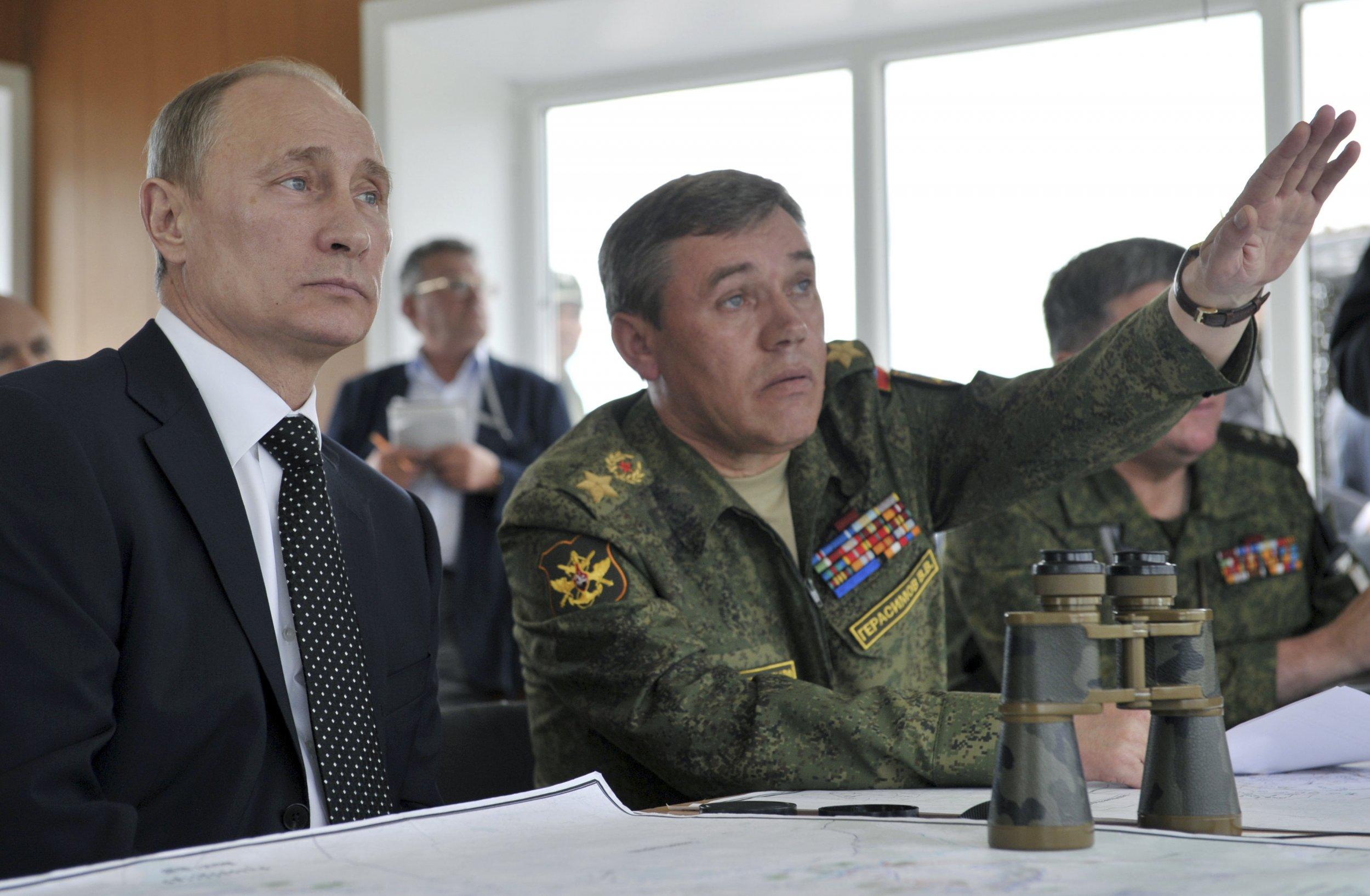 Putin and Gerasimov