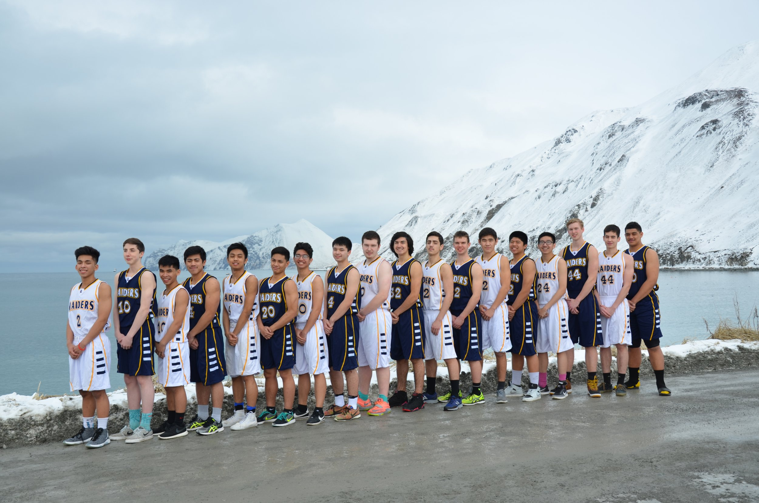 Far Out Unalaska High School Basketball Reigns In The