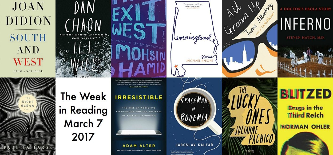 the week in reading the best new book releases for march