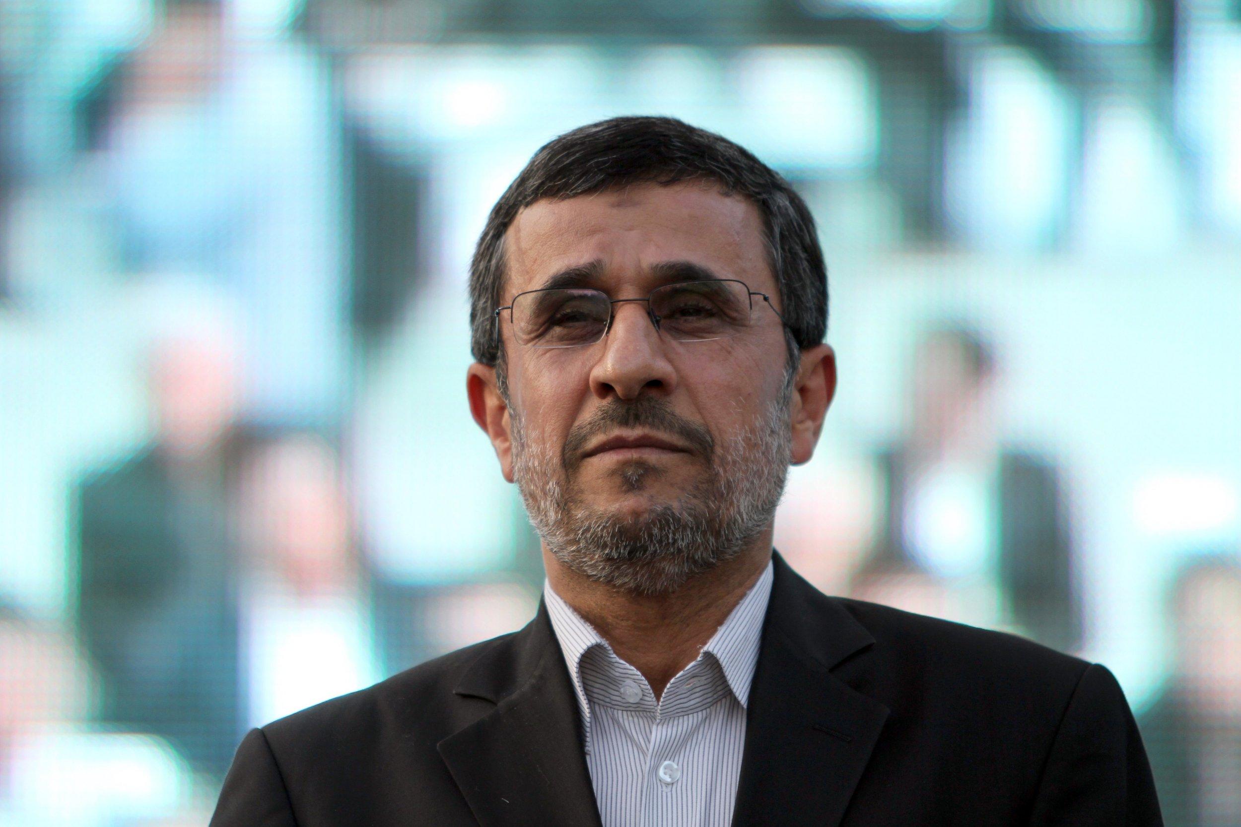 Former Iranian President Mahmoud Ahmadinejad