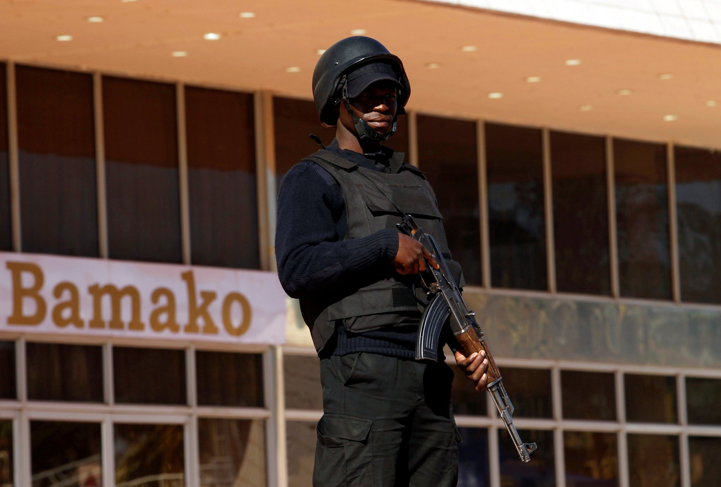 Mali soldier