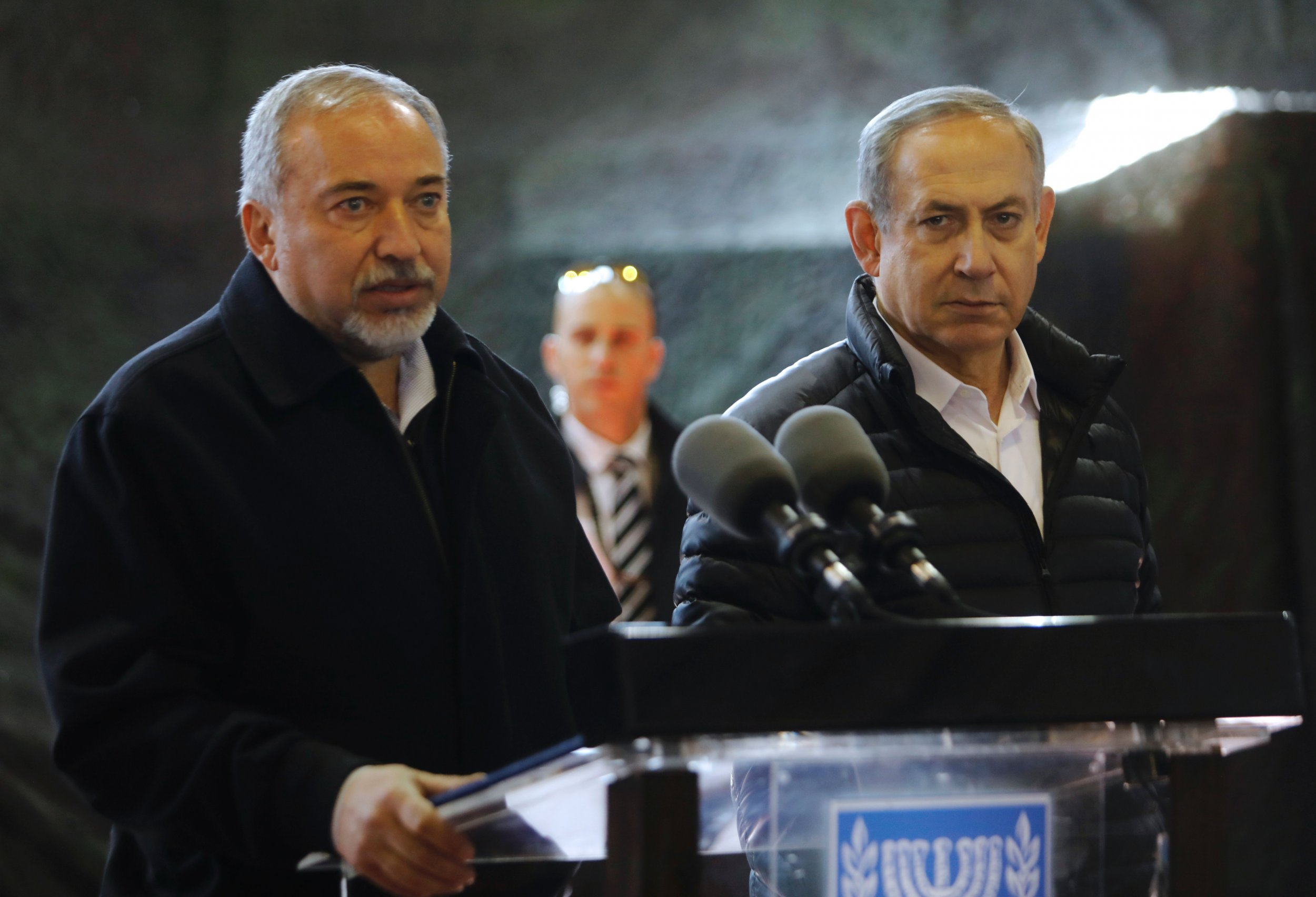 Lieberman and Netanyahu