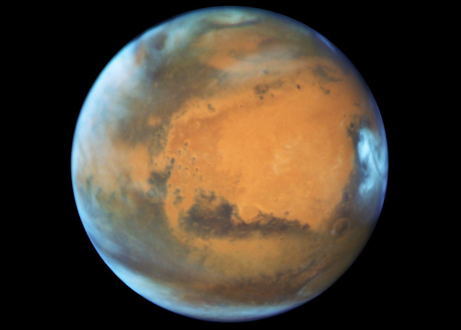 nasa mars magnetic shield radiation