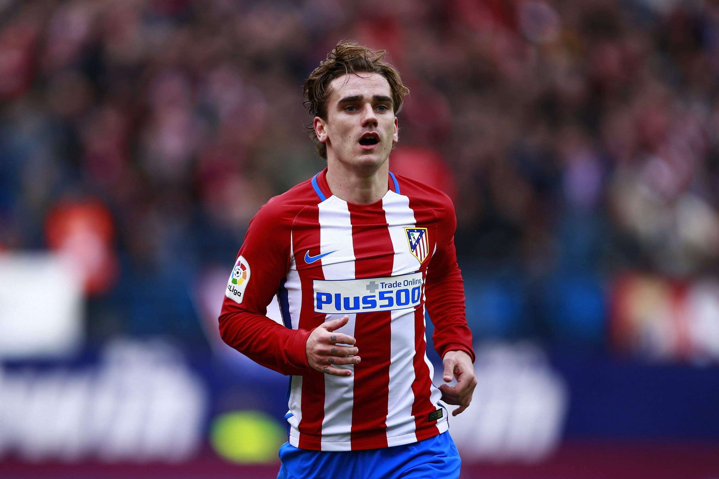 Atletico Madrid striker Antoine Griezmann.