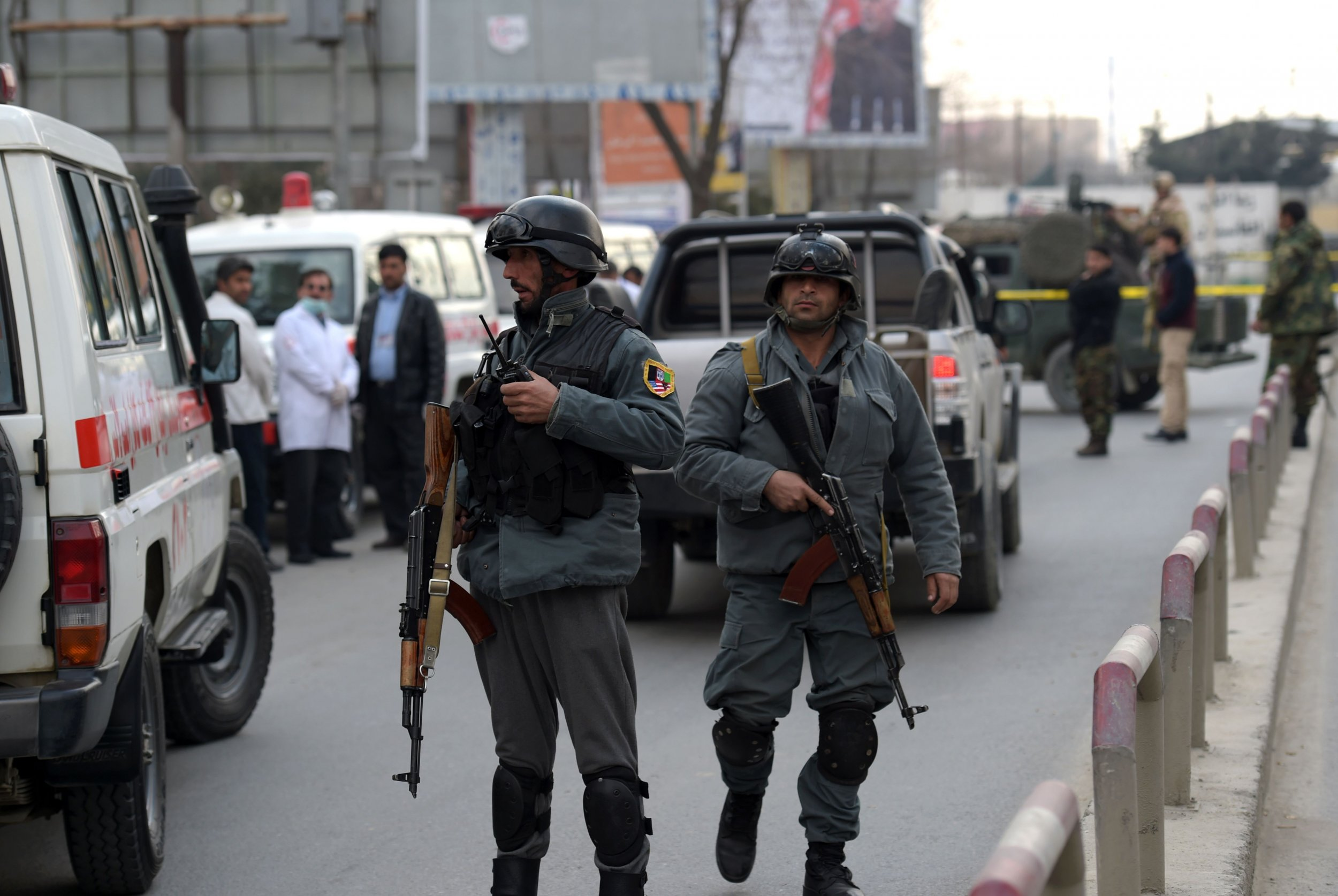 Kabul security forces