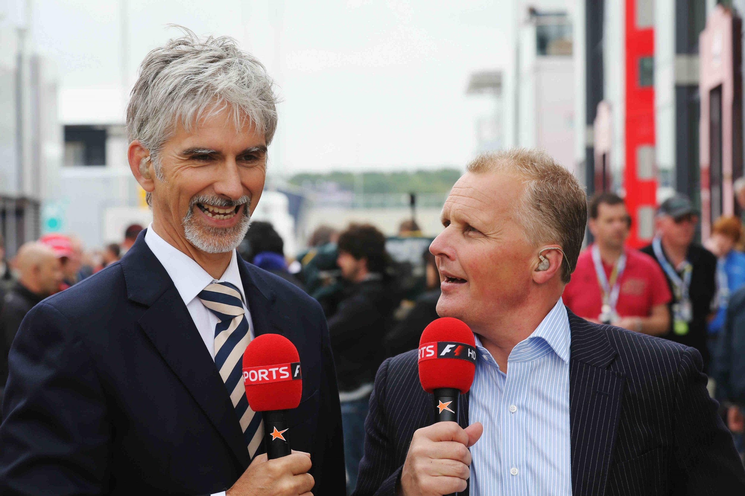 Damon Hill And Johnny Herbert Talk Formula One Problems