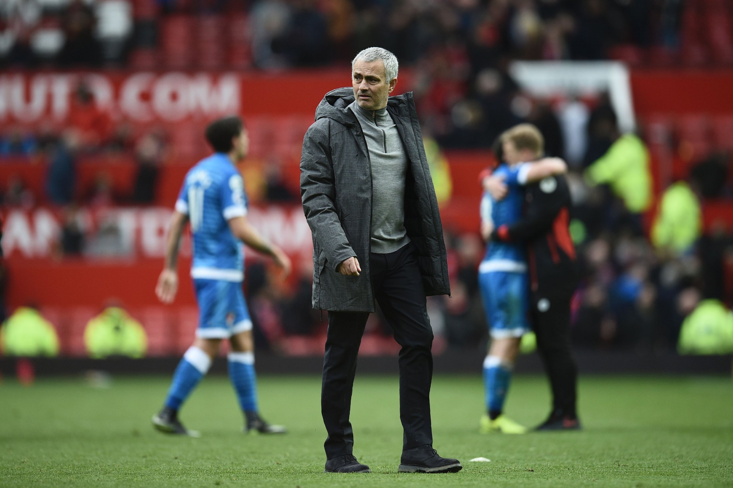 Manchester United manager Jose Mourinho at Old Trafford, Manchester, March 4.