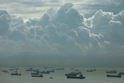 Ships in Singapore