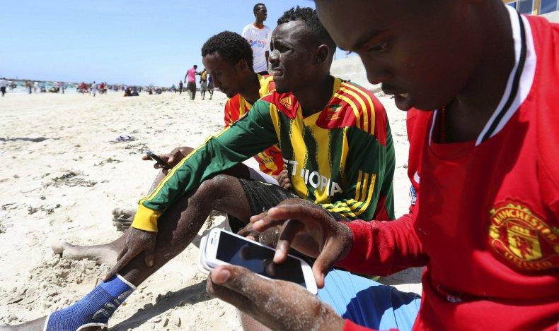 Somalia internet user