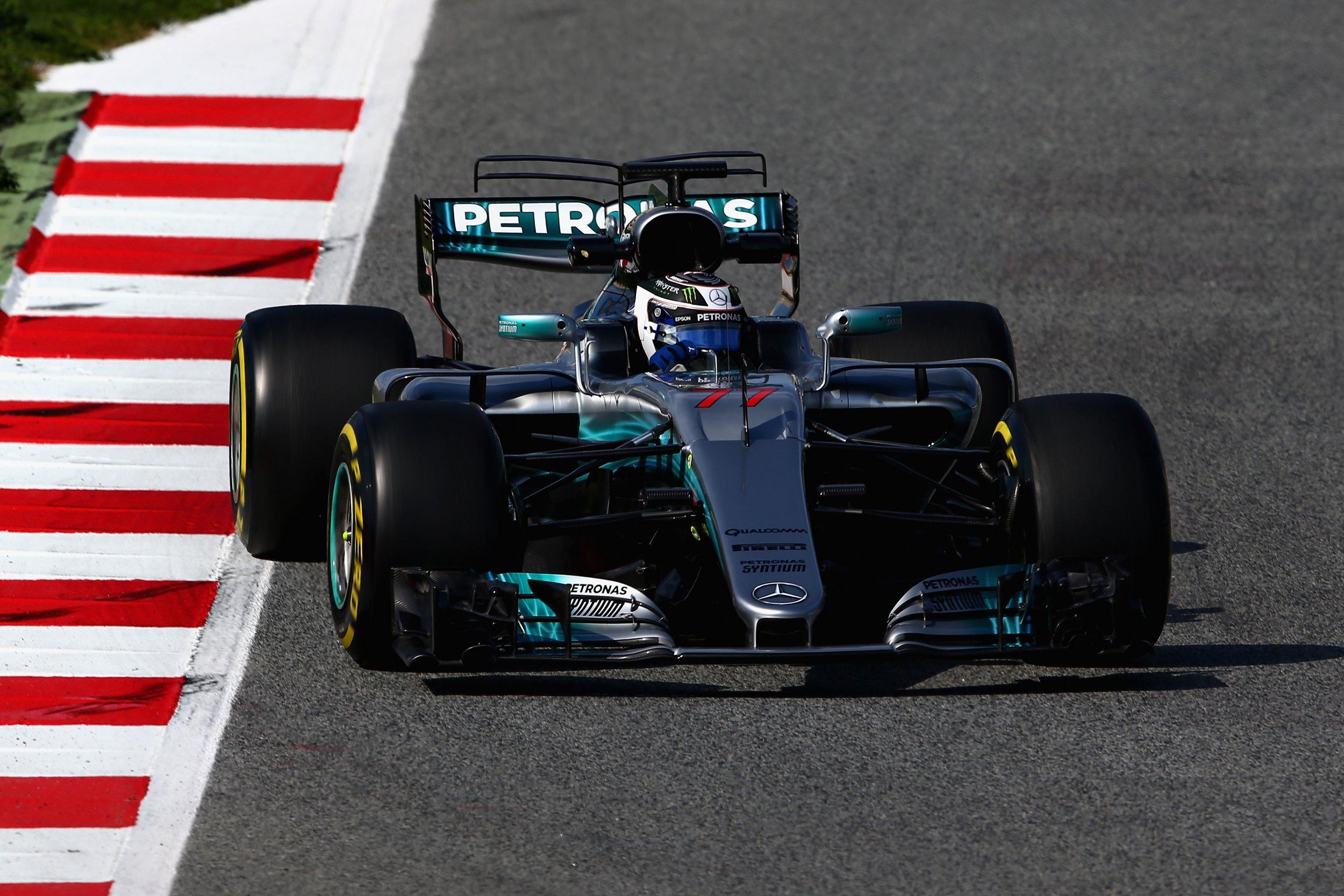 Watch Valtteri Bottas Formula One Benchmark From