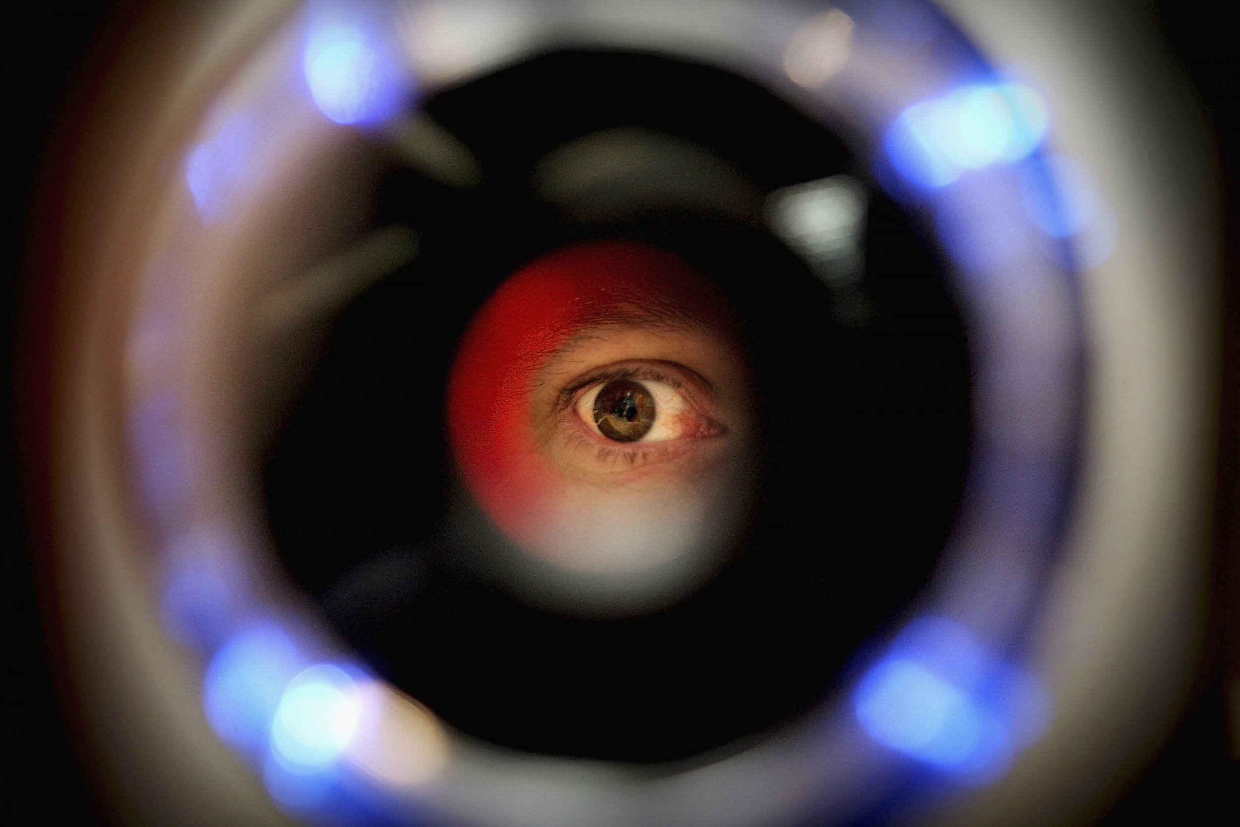Biometrics iris recognition scanner