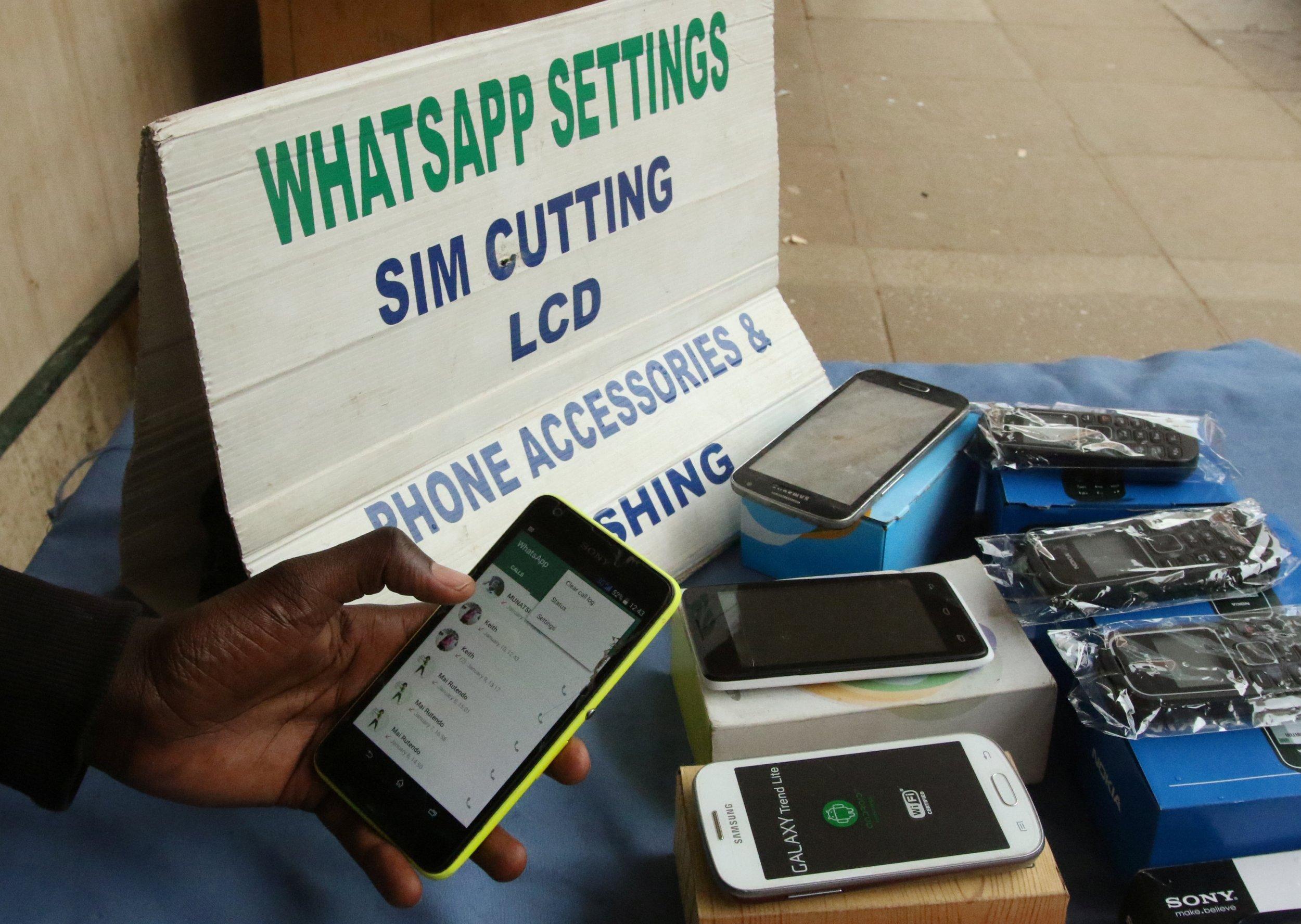 Zimbabwe mobile phone vendor