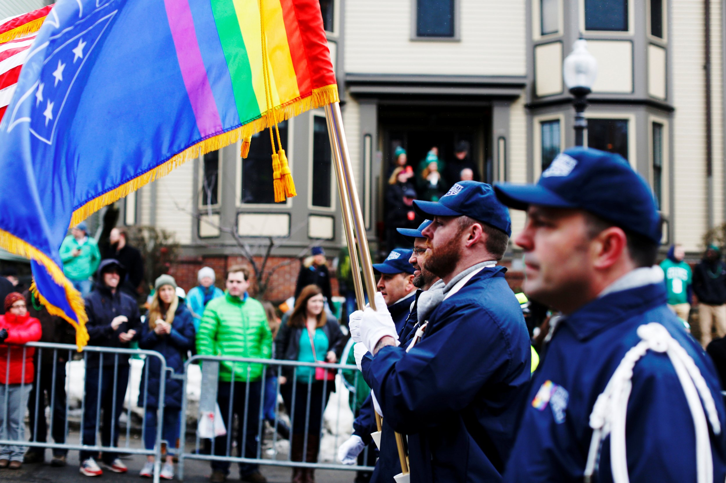 Boston St. Patrick's Parade LGBT