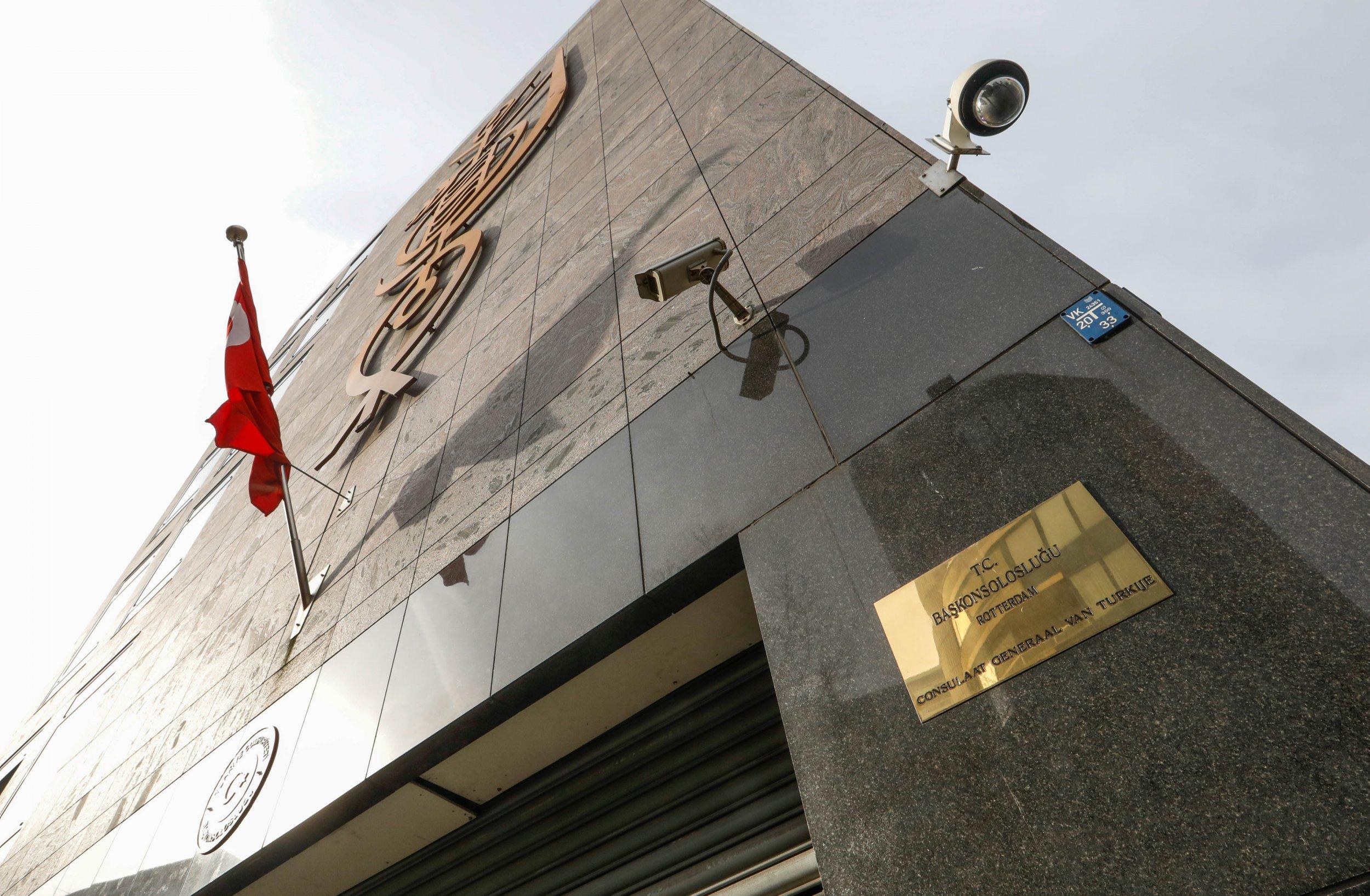 Turkish consulate in Rotterdam