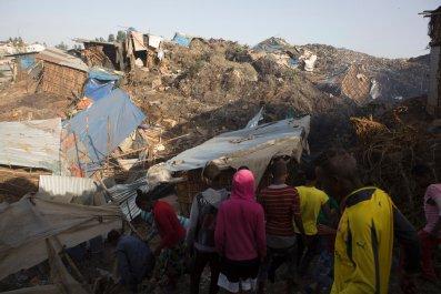 Ethiopia landfill site