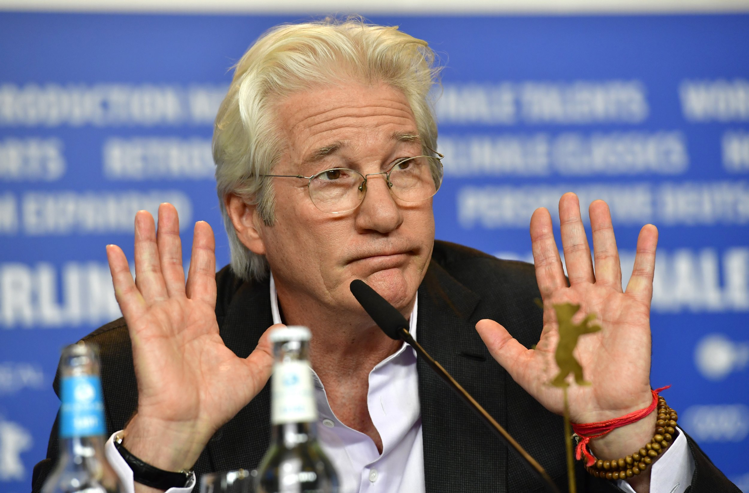 Richard Gere: There Is 'No Defense' of Israel's Occupation or 'Illegal' Settlements