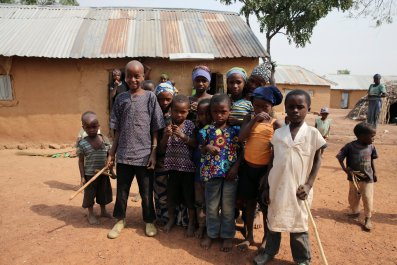 Kaduna displaced children