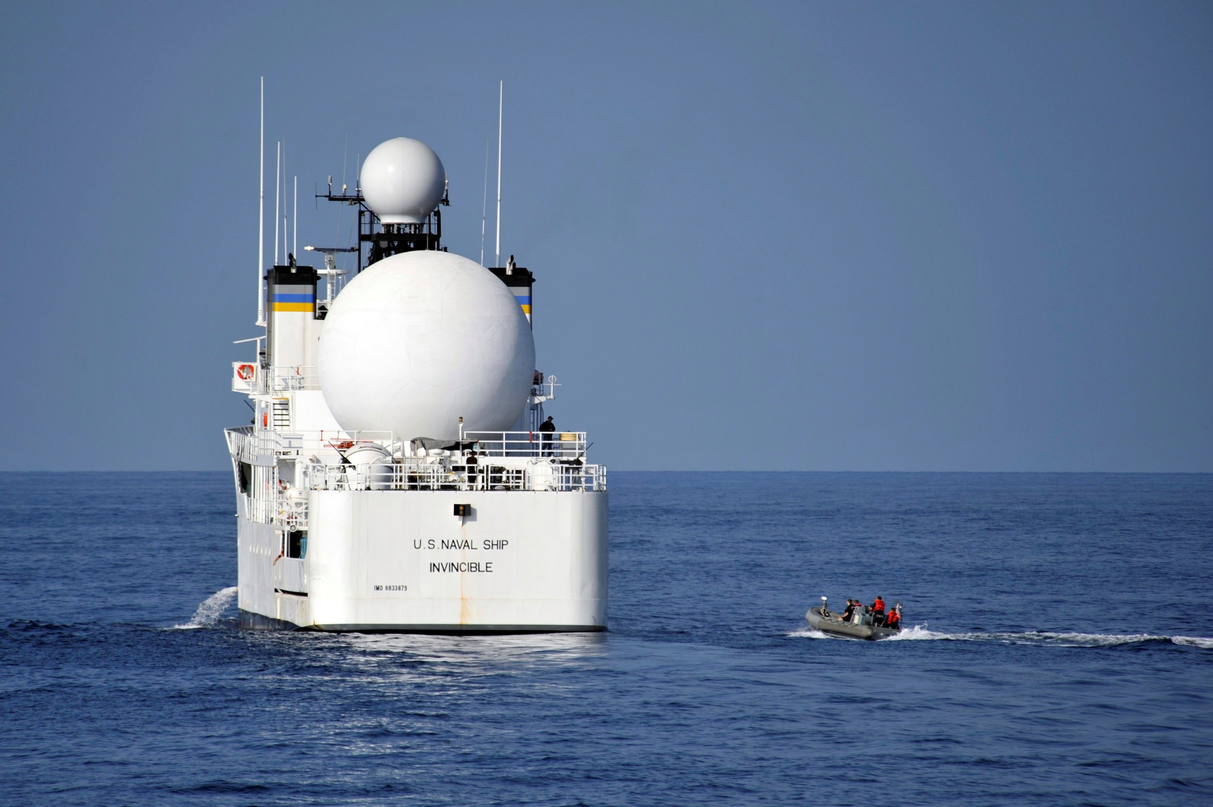 Ship in South China Sea