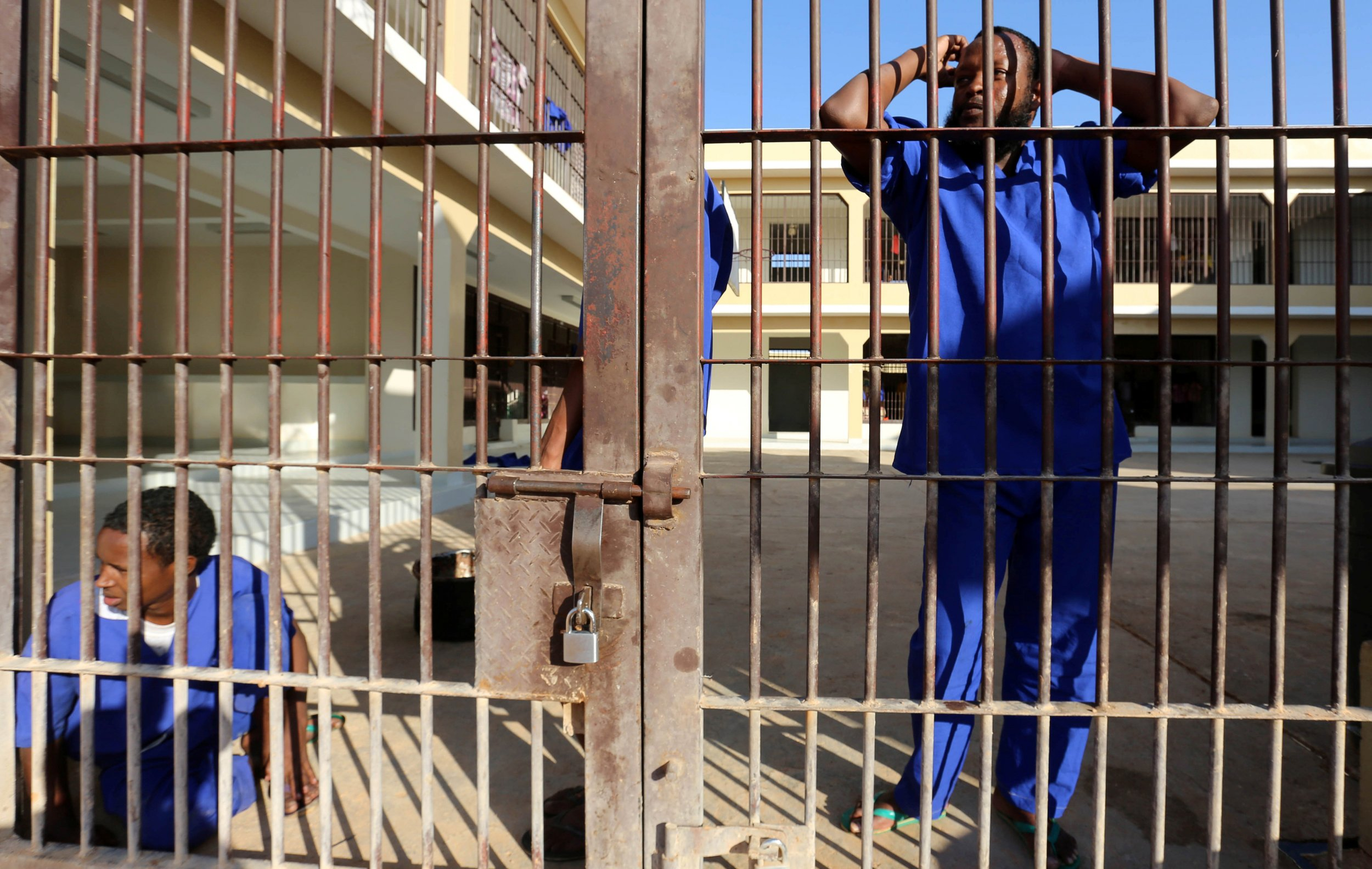 Somalia pirates in prison