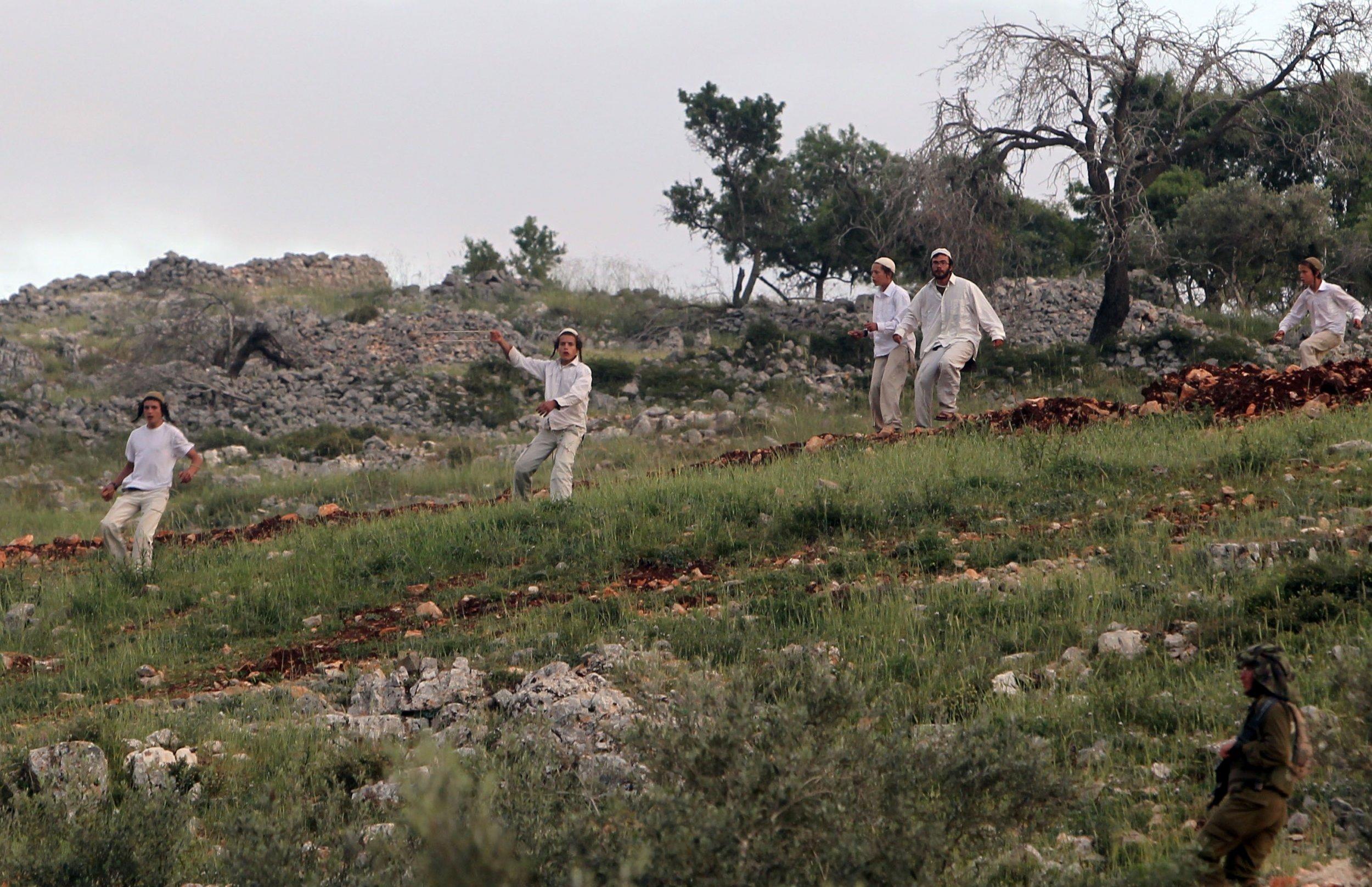 Israeli settlers