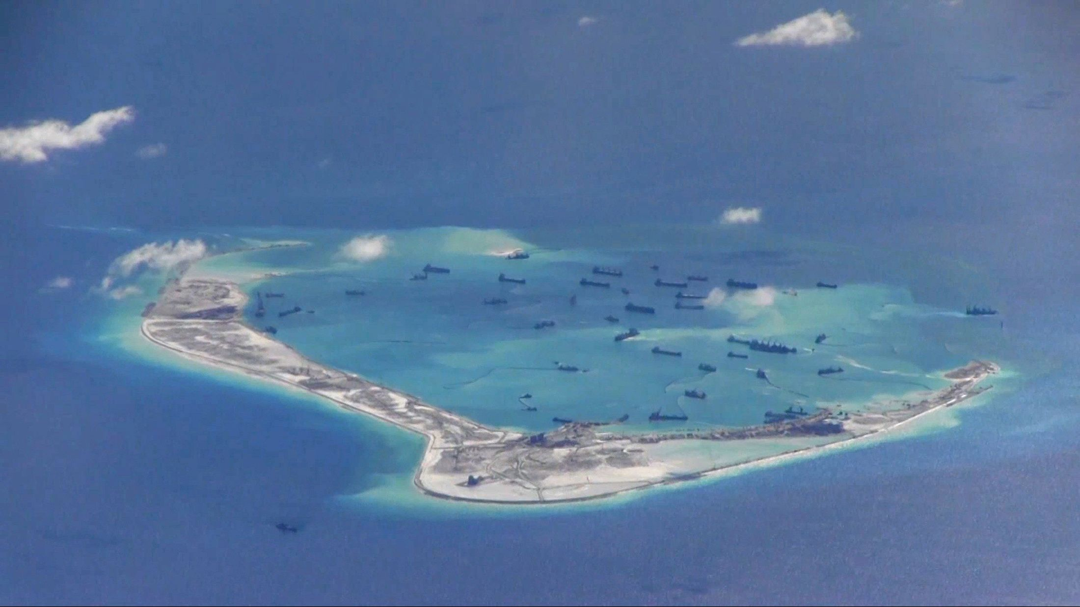 South China Sea Island