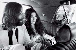 John Lennon and Yoko Ono in Toronto on May 27, 1969. Jeff Goode ...
