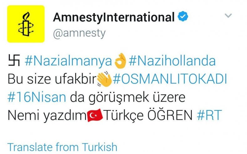 Twitter hack hijack nazi amnesty